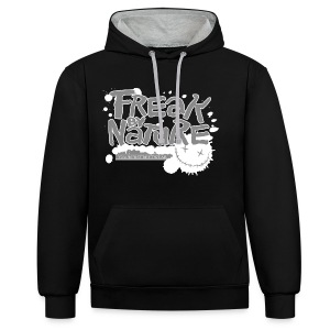 Freak by Nature - Kontrast-Hoodie