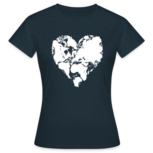Weltfrieden - Frauen T-Shirt