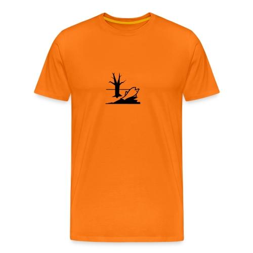 T-Shirt Uomo Pericolo per l'ambiente - Maglietta Premium da uomo