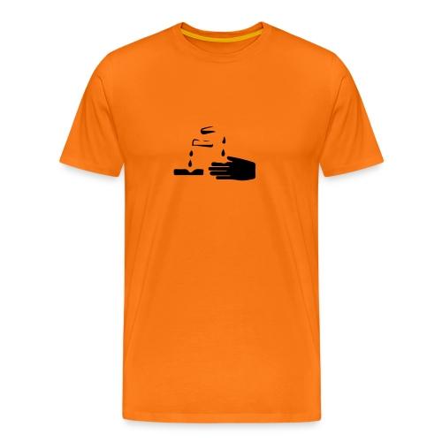 T-Shirt Uomo Corrosivo - Maglietta Premium da uomo