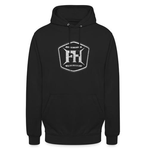 Falsche Helden - Vintage Logo-Kapuzenpullover - Unisex Hoodie