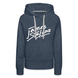 James Stefano 2017 Blue Sweater - Vrouwen Premium hoodie