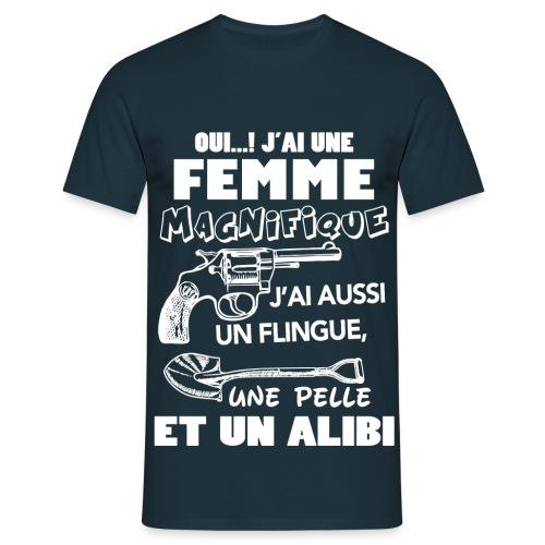 J'ai une femme - T-shirt Homme