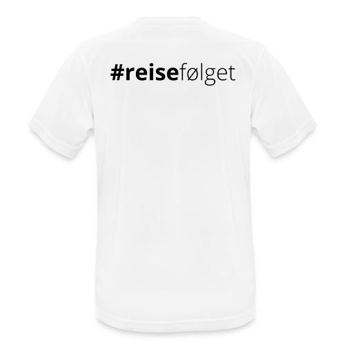 T-skjorte trening (herre) - Pustende T-skjorte for menn