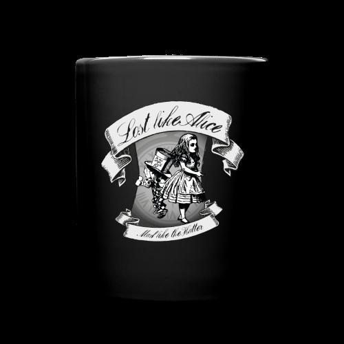 Lost like Alice, Mad like the Hatter - Full Colour Mug