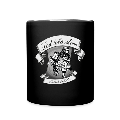 Lost like Alice, Mad like the Hatter - Full Colour Mug