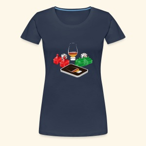 Distillery - Frauen Premium T-Shirt