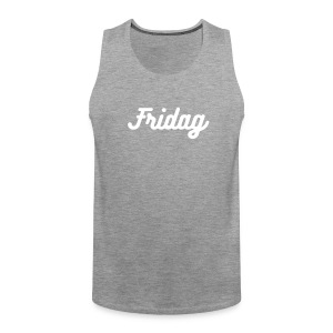 Fridag tank - Premium singlet for menn