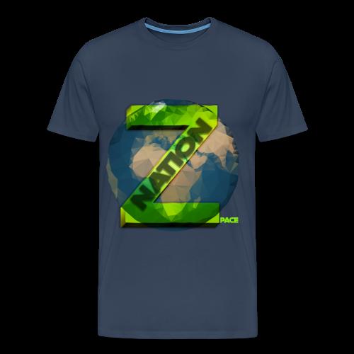 Zpace NATION T-Shirt (Men) - Men's Premium T-Shirt