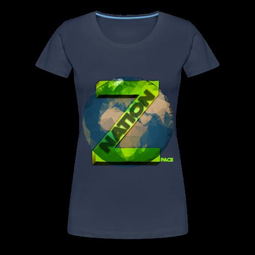 Zpace NATION T-Shirt (Women) - Women's Premium T-Shirt