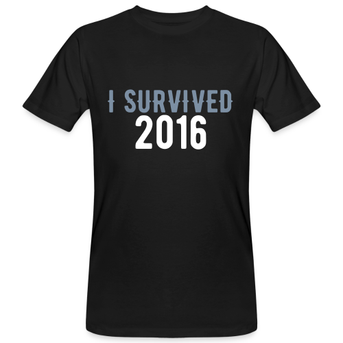 I Survived 2016 - Männer Bio-T-Shirt