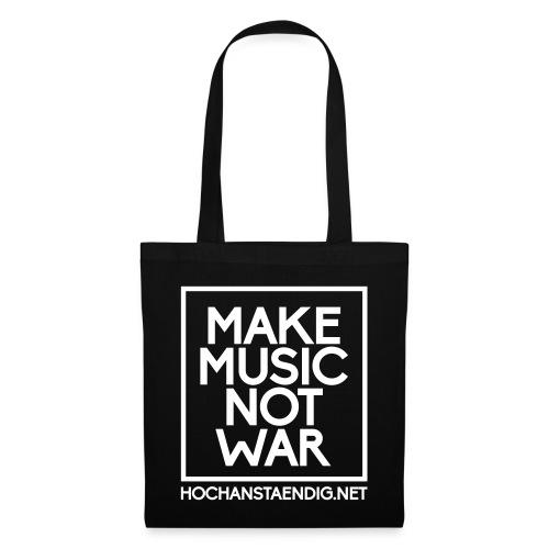 Make Music Not War Beutel - Stoffbeutel