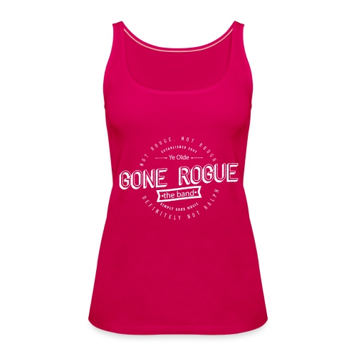 Rogue - Not Rouge Singlet Pink - Premium singlet for kvinner