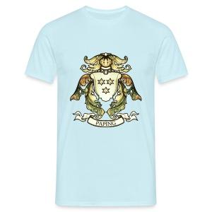Christian Paping wapen groot (normaal) - Mannen T-shirt