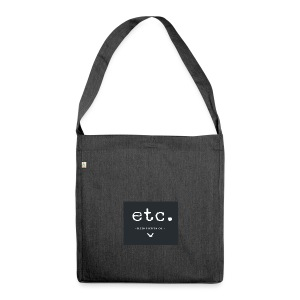 etc courier bag - Schultertasche aus Recycling-Material