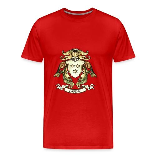 Christian Paping wapen groot - Mannen Premium T-shirt