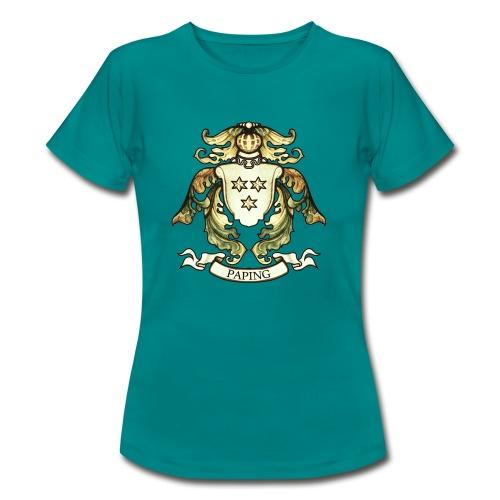 Christian Paping wapen vrouwen - Vrouwen T-shirt