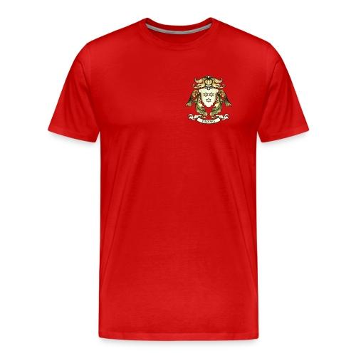 Christian Paping wapen klein - Mannen Premium T-shirt