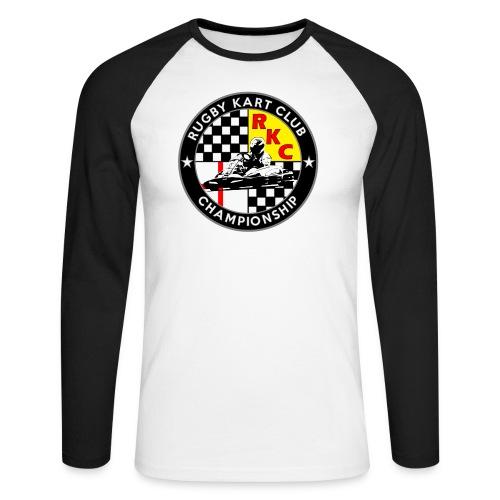 Rugby Kart Club Long Sleeve Baseball T-Shirt - Men's Long Sleeve Baseball T-Shirt