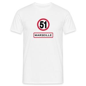 MARSEILLE 51 - T-shirt Homme