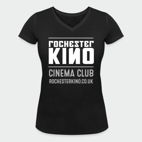 Kino black t-shirt womens - Women's Organic V-Neck T-Shirt by Stanley & Stella