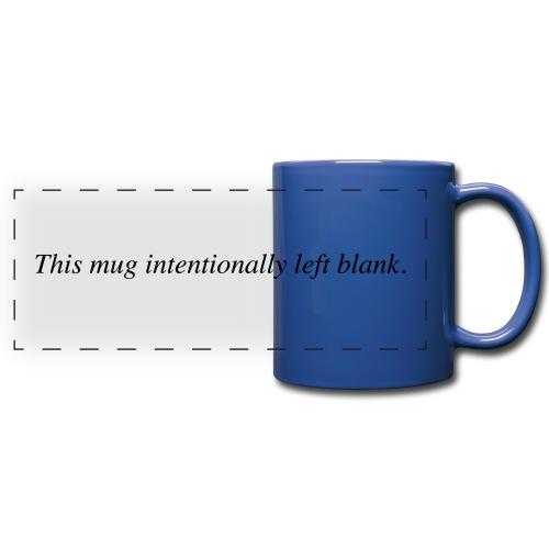 mug intentionally blank - Panoramatasse farbig