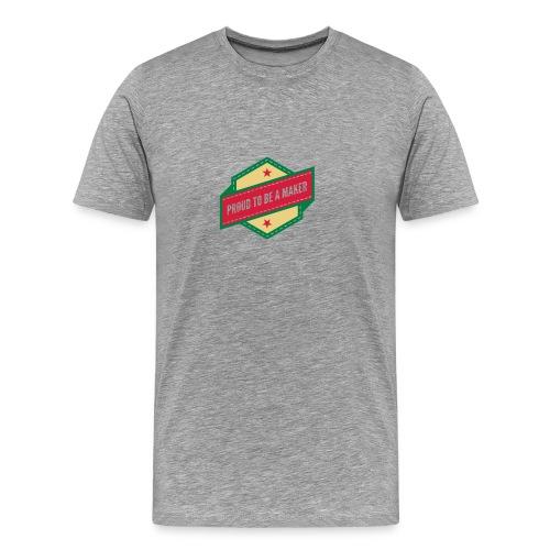 T-Shirt Proud to be a maker - T-shirt Premium Homme