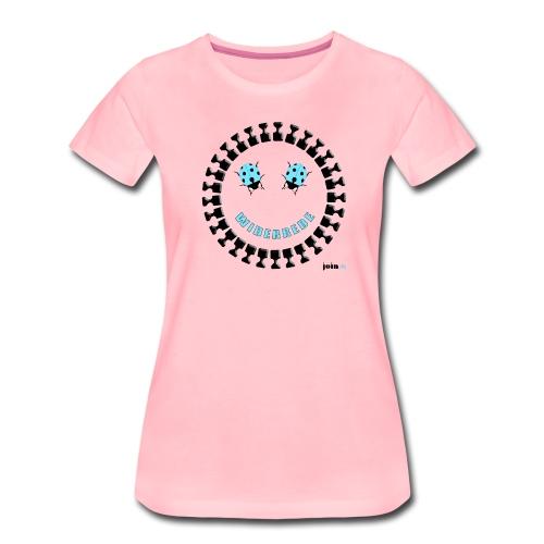 Widerstand Smiley - Frauen Premium T-Shirt