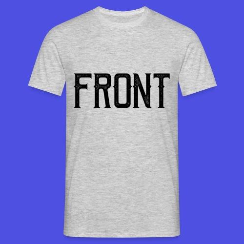 Front tshirt - Mannen T-shirt