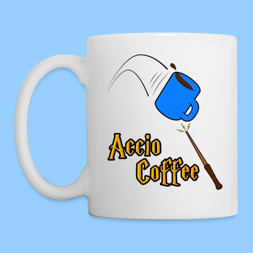 Accio Coffee (handle on left) - Mug