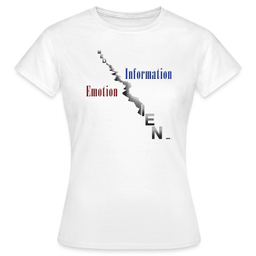 Medien Spalten - Frauen T-Shirt