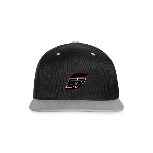 Society57 Snapback mit Logo - Kontrast Snapback Cap