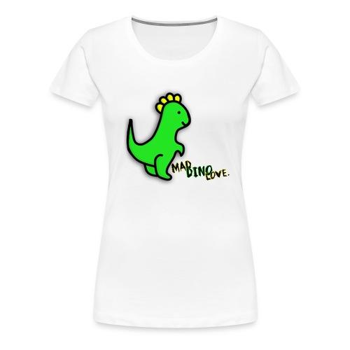 Jerry - Mad Dino Love.  Women's T-Shirt - Women's Premium T-Shirt