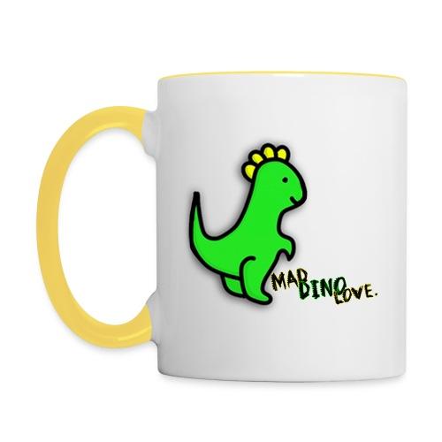 Jerry - Mad Dino Love. Mug - Contrasting Mug
