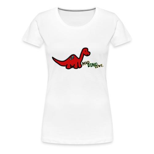 Joe - Mad Dino Love. Women's T-Shirt - Women's Premium T-Shirt
