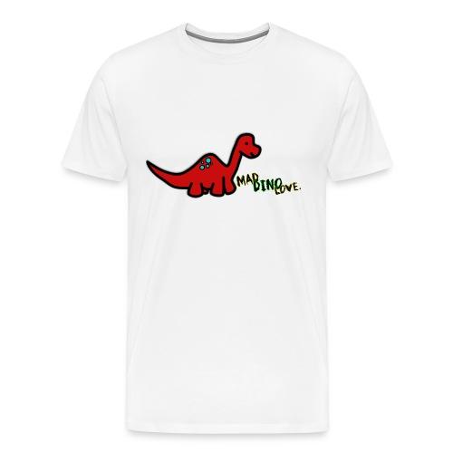 Joe - Mad Dino Love. Men's T-Shirt - Men's Premium T-Shirt