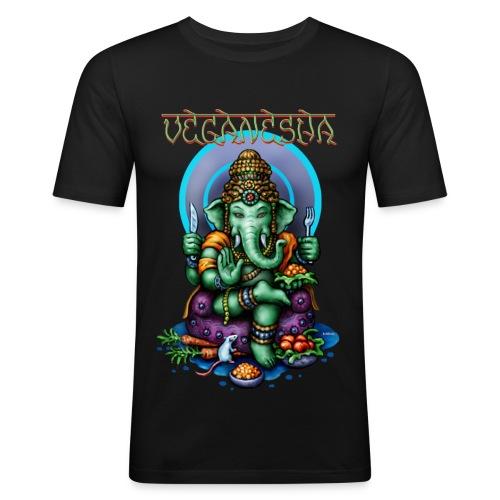 Veganesha (slim fit) - Männer Slim Fit T-Shirt