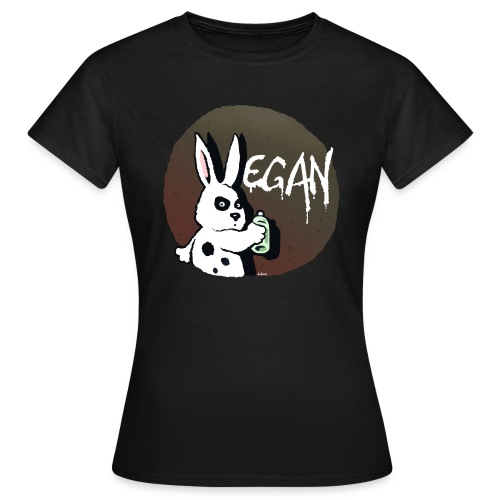 Rabbit (girl) - Frauen T-Shirt