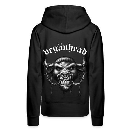 Veganhead (kapu/girl) - Frauen Premium Hoodie