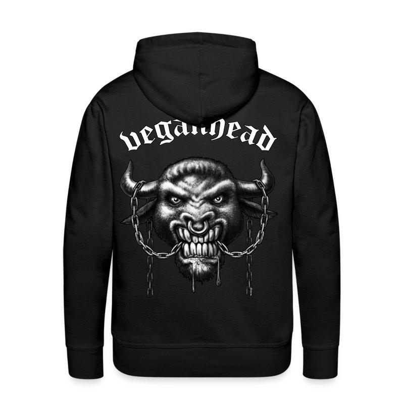 Veganhead (kapu) - Männer Premium Hoodie