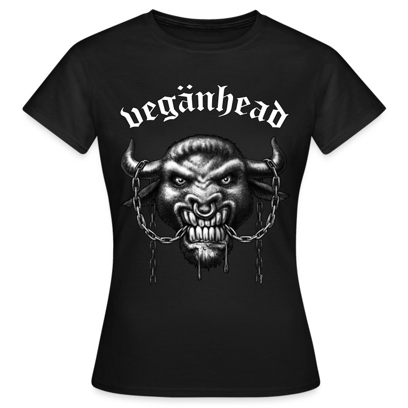 Veganhead (girl) - Frauen T-Shirt