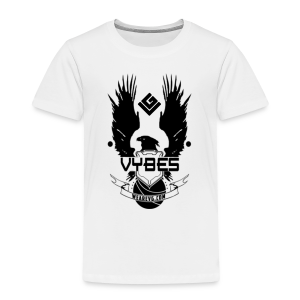 UNSC Vybes Kid's T-shirt (White) - Kids' Premium T-Shirt