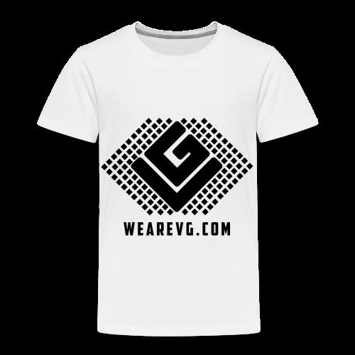 Funky Vybes Kid's T-shirt (White) - Kids' Premium T-Shirt