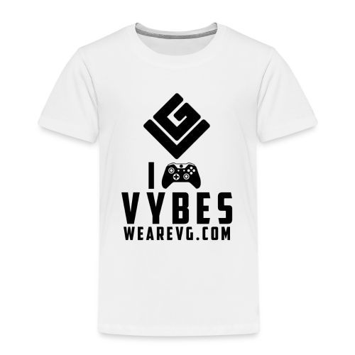 I love Vybes Kid's T-shirt (White) - Kids' Premium T-Shirt