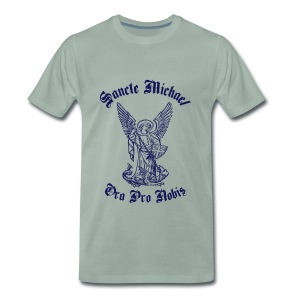 SANCTE MICHAEL - Men's Premium T-Shirt