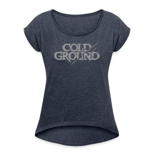COLD GROUND - T-shirt Retro - T-shirt à manches retroussées Femme
