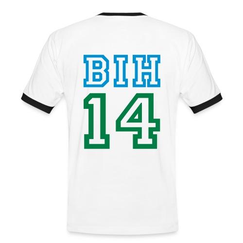 Kontrast Shirt, BIH - Männer Kontrast-T-Shirt