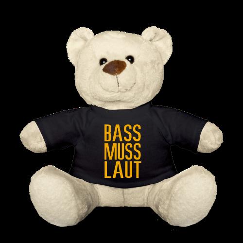 bass muss laut Kuscheltiere - Teddy