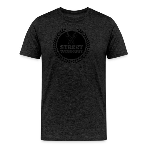 Street Workout - Logo Tee - Men's Premium T-Shirt