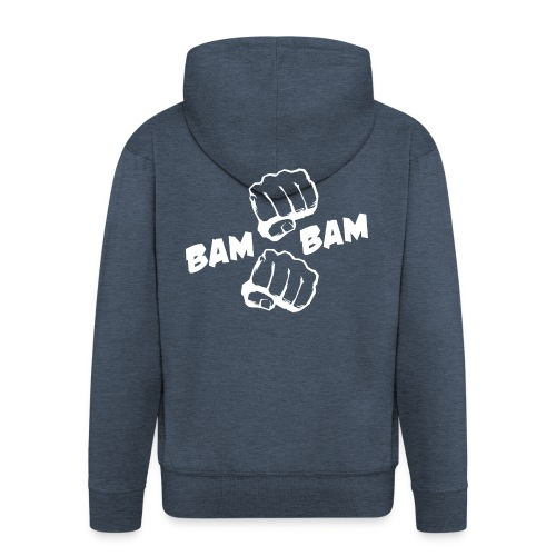 official BAM BAM hoodie - Men's Premium Hooded Jacket
